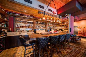 Matchstick Restaurant Project - Bar Detail