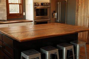 Barnwood countertop