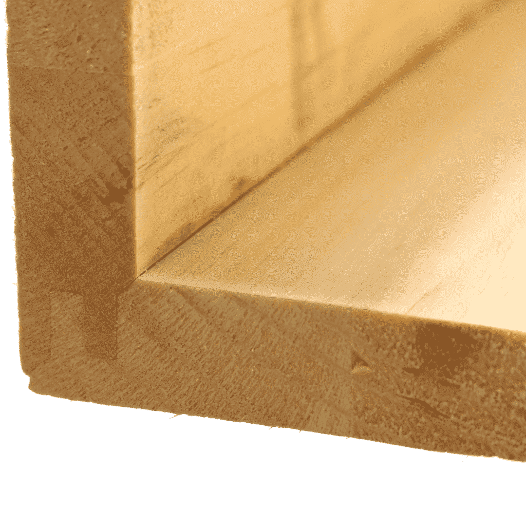 Seamless miter lock joint