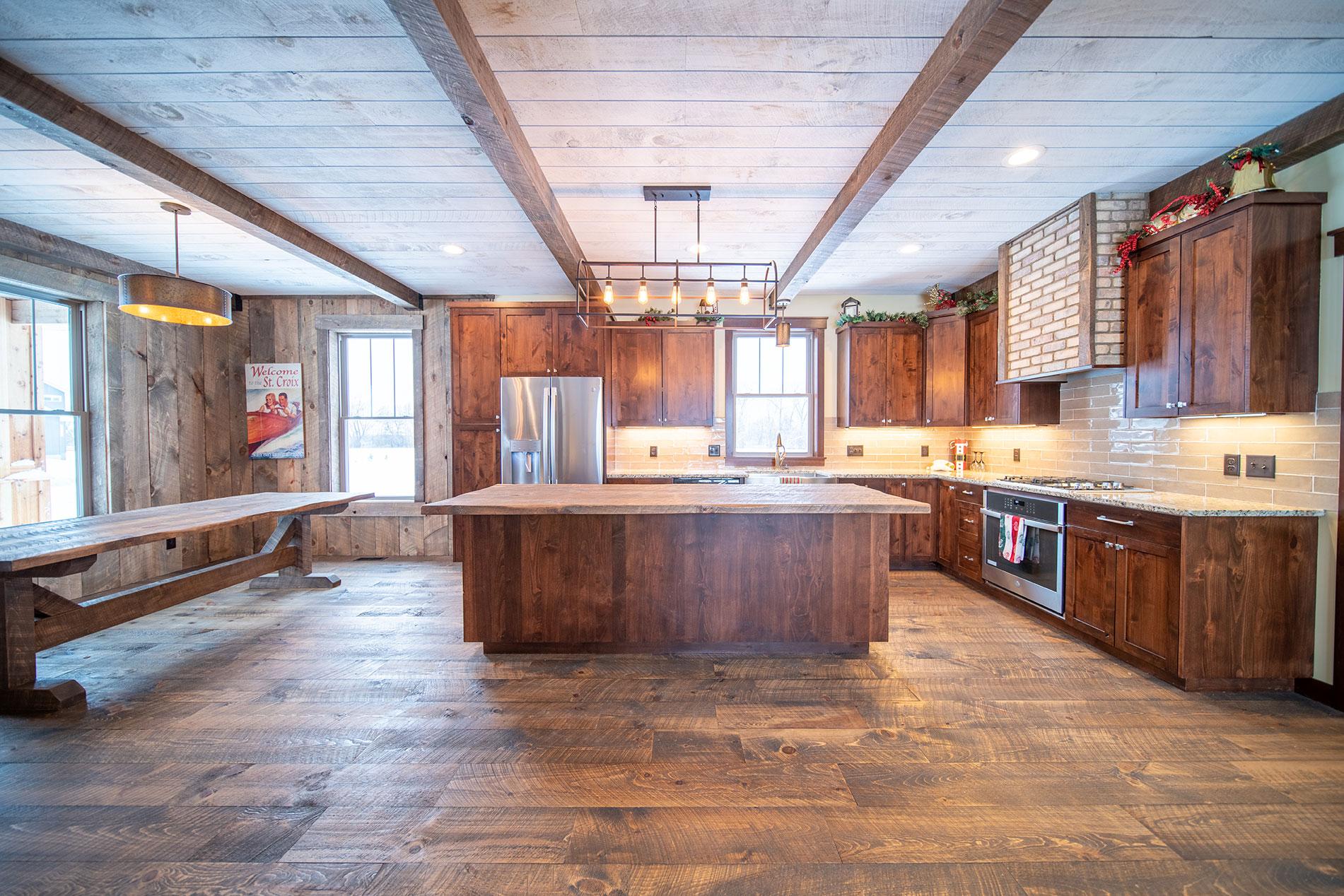 Hopkins Prairie Division - New Construction - Kitchen View