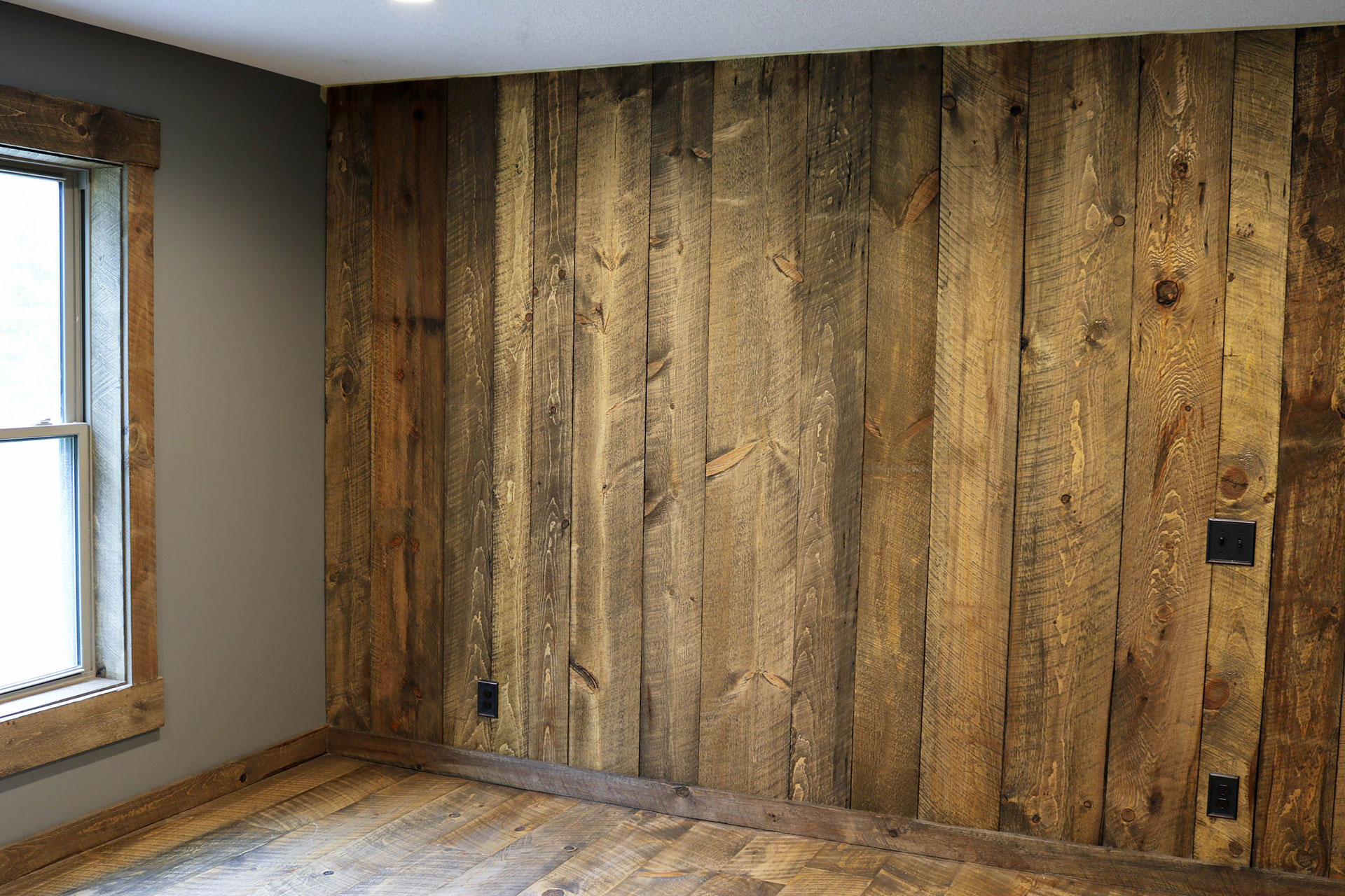 Rustic Barnwood Interior Wall Coverings In Wisconsin Forever