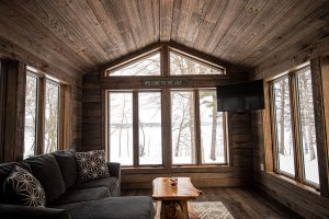 Cabin on the Lake Project - Greatroom