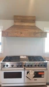Butte, Montana Project - Barnwood Oven Hood