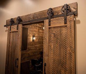 Salon Ultimo Project - Barn Doors