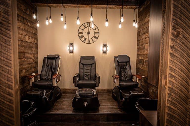 Salon Ultimo Project - Pedicure Room